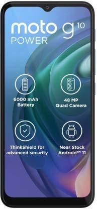 motorola Moto G10 Power 64+4GB - Aurora Gris - Dual SIM - LIBERADO