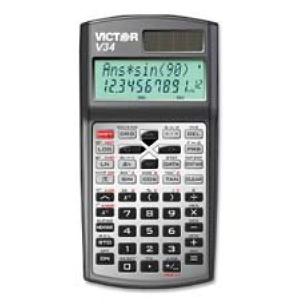 スタンド過敏な無人Victor two-line Advanced Scientific Calculator