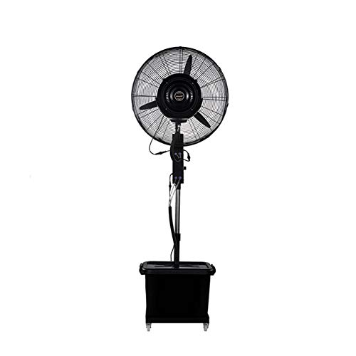 Household Air-Conditioning One-touch Shaking Head Industrial Mechanical Fan Pedestal Oscillating Best Fans Cooling Low Noise Atomization Add Water Commercial Outdoor
