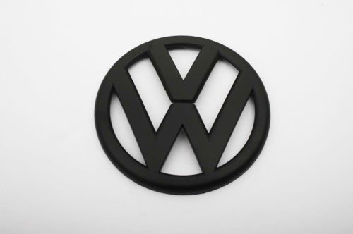 Euro Style Matte Black Rear Trunk Emblem For Volkswagen VW Golf MK6 1.4T 2.0T GTI TDI