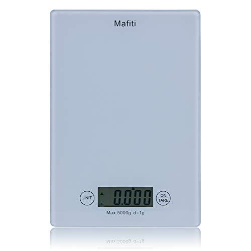 Mafiti MK100 Báscula de cocina,Báscula digital en gramos ideal para pesar alimentos de recetas