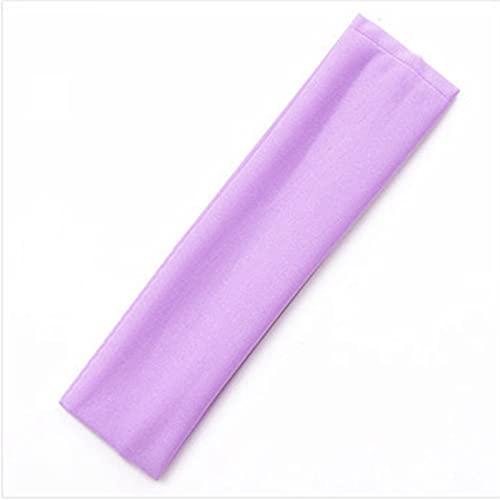 YUANBOO 19 Colores Elástico Sudor Banda Hairband Gym Dance Sport Sweatband Yoga Bandas de Cabello Estirar Cinta Hombre DIEADA DIEADOR (Color : 11)