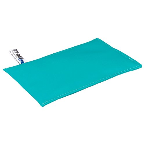 Sport-Tec Sandsack Sandsäckchen Gewichtsäckchen mit Quarzsand 25x15 cm, 1,2 kg, Türkis