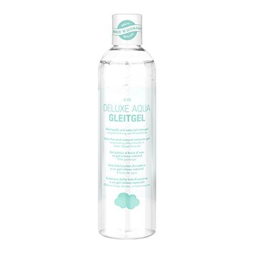 EIS, Deluxe Aqua Gleitgel, wasserbasierte Langzeitwirkung, Gleit-& Intimgel, 300 ml