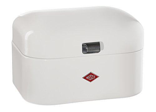 WESCO 235101-01 Breadbox Single Grandy Brotkasten Weiß