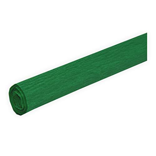 Krepppapier fein grün 50 x 250 cm ca. 31 g/m² Krepppapier zum basteln