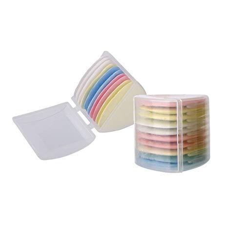 XINGSUI 10 Stücke Schneiderkreide, Dreieckschneiderkreide, Stoffmarkierungskreide, zum Schneidern, Nähen, Herstellen, Stoffmarkieren DIY-Kleidungsherstellung (4 Farben)