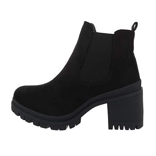 Ital-Design Damesschoenen Chelsea boots