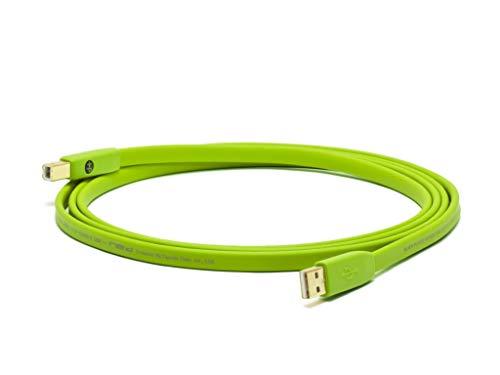 NEO OYAIDE D + USB hi speed 2.0 class b cavo piatto da 1 metro
