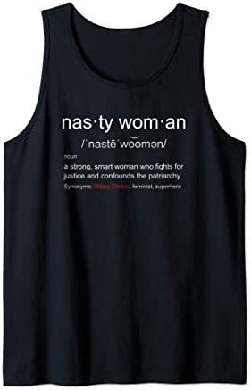 Nasty Woman Nasty Woman Definition with Hillary Clinton Tank Top product image