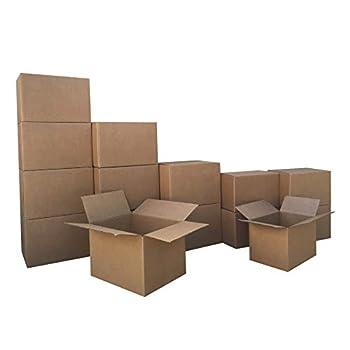Amazon Basics Moving Boxes - Small/Medium Bundle 15-Pack