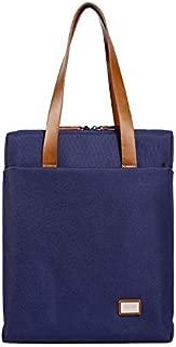 Men's Handbag Official Computer Business Bag (Color : Blue, Size : S-Long)