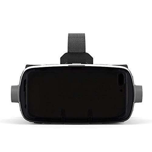 Auriculares VR Auriculares VR, Auriculares de Realidad Virtual de Gafas 3D para Juegos de VR y películas en 3D, Sistema de Cuidado de los Ojos para teléfono, Compatible con múltiples tamaños
