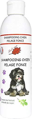 Feuille rouge Shampooing pour Chiens - Pelage Noir, Pelage foncé - 250 ML
