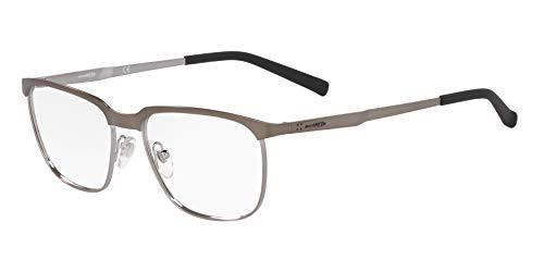 Arnette 0AN6122 Monturas de gafas, Matte Gunmetal/Gunmetal, 54 para Hombre