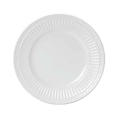 Mikasa Italian Countryside Bread and Butter Plate, 6.75-Inch , White , Single - DD900-203