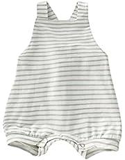طفل رضيع الفتيات مخطط رومبير الصيف طفل لطيف أكمام عارية الذراعين حللا كيد جميل للجنسين الوليد الرضع الملابس (Color : C, Kid Size : 6M)