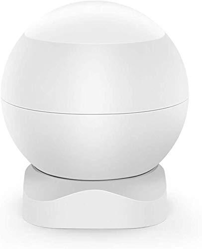 eMylo ZigBee Wireless Passive Infrared PIR Motion Detector, Rotating Infrared Motion Sensor for Human Body, Smart Home Alarm Sensor