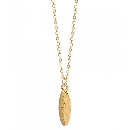 Collar Collar de Tabla de Surf para Mujer Collar Delicado I Love Surfer Necklace Wave Summer Fashion Beach Jewelry