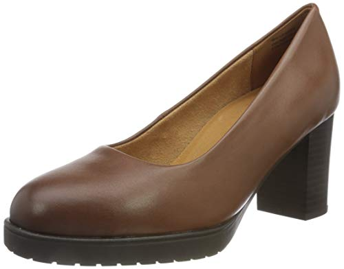 CAPRICE Damen 9-9-22406-25 Pumps, Cognac Soft NA, 41 EU