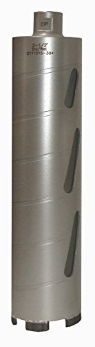 Concord Blades CBD02500HP 2-1/2 Inch Laser Welded Dry/Wet Diamond Core Drill Bit