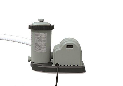 Intex Filtre à Cartouche, Type Optimo 636 G, certifié TÜV/GS, Gris, 5,678 L/H/180 W/230/12 V