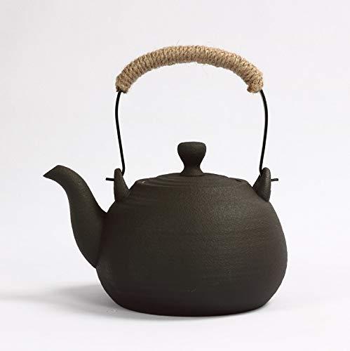 Keramik Teekanne Antiker Wasserkocher, Keramik Tee-Set, Große Kapazität Wasserkocher