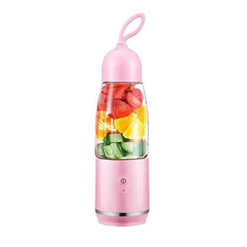 ZTTTD Fruit Juicer, Portable Blender Fruit Juicer Cup, Rechargeable Electric Juice Mixer Machine 300ML