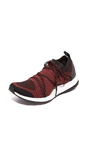 adidas by Stella McCartney Women's Pureboost X Sneakers, Orange/Black/Nomad Red, 10 B(M) US