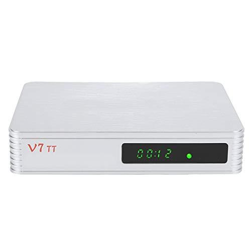 Yctze Decodificador HD, Alta definición Completa de 1080P, Soporte para múltiples PLP, Soporte USB PVR Ready y USB WiFi para Compartir Internet, Accesorio de Equipo(EU)