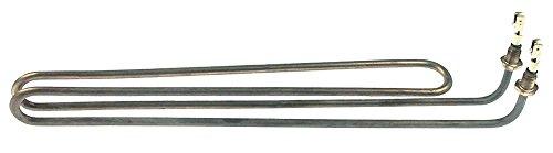 Silanos Heizkörper für Spülmaschine N700F, N700FPS, N700F-PS, E50, E45, V45 für Tank 2500W 230V Länge 357mm Breite 34mm M10x1