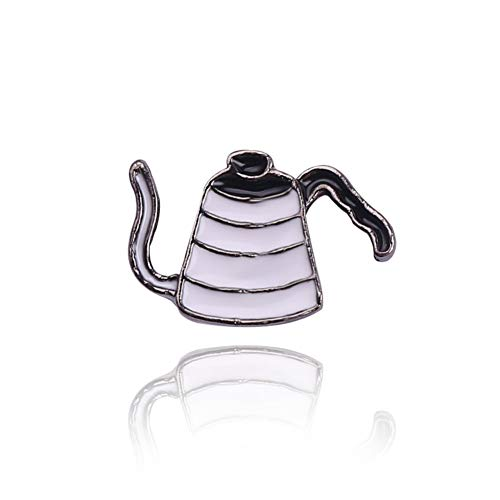 JTXZD broche uit de serie koffie thee, handgemaakt, van thee, model Comics, badge voor de verjaardag van de kinderen