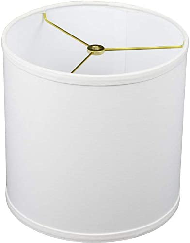 FenchelShades com 10 Top Diameter x 10 Bottom Diameter 10 Height Fabric Drum Lampshade Spider product image