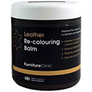 Leather Recolouring Balm (Camel) for Sofas, Cars, Shoes and Clothing - The Best Leather Care -Renew and Restore Color to Faded and Scratched Leather on Boots, Handbags, Jackets, Saddles