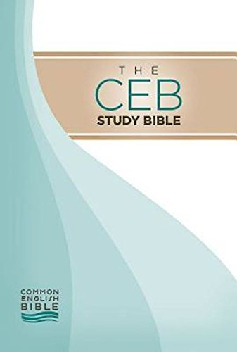Compare Textbook Prices for CEB Common English Bible Study Bible Hardcover  ISBN 9781609260286 by Common English Bible