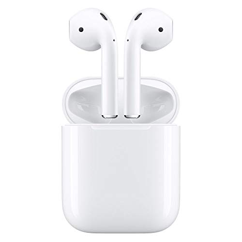 Apple AirPods MMEF2AM/A Wireless Bluetooth Headset for iPhones with iOS 10 or Later (Renewed)