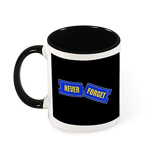 N\A Blockbuster Nunca Olvide la Taza de cerámica Taza de té, Regalo para Las Mujeres, Las niñas, Esposa, mamá, Abuela, 11 oz