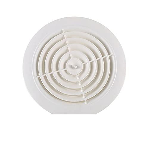 SZBLYY rejilla ventilacion VENTA DE AIRE REDONDO LOUVER PRINGURA DE CUBIERTA DE CUBIERTA AJUSTABLE DE AUMENTO AJUSTE DE LA VENTA DE VENTILACIÓN DE LA VENTILACIÓN DE VENTILACIÓN 75/100 / 125/150mm Vent