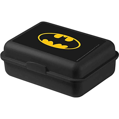 United Labels DC Comics Batman Logo Kinder Jungen Brotdose Lunchbox