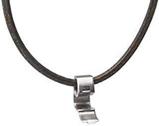Titanium Necklace Pendant Ring Holder