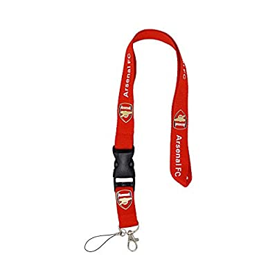 VKOTOUNY FC Football Club Fan Lanyard Key Chain Use for Mobile Phone/Business ID/Badge Card ect for Arsenal Fans