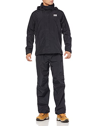 [ヘリーハンセン] レインスーツ Helly Rain Suit ブラックオーシャン L