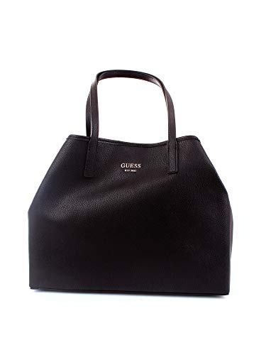 Guess - Vikky Large Tote, Shoppers y bolsos de hombro Mujer, Negro (Black)