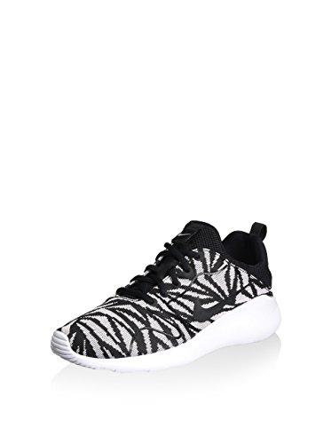 Nike Damen Kaishi 2.0 Jacquard Print Sneaker, schwarz/weiß, 40.5 EU