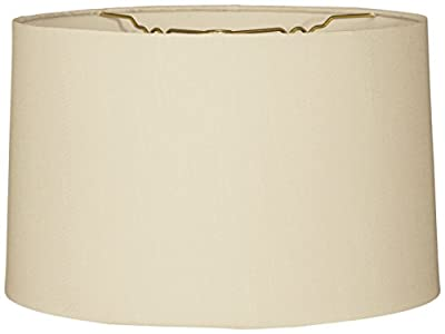 Royal Designs Shallow Drum Hardback Lamp Shade