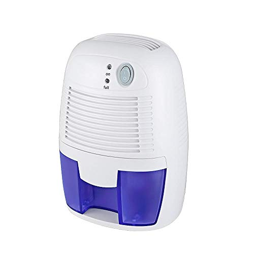 Sale!! Electric Dehumidifier, 500Ml Portable Condensation Absorbers, Ultra Quiet Compact Dehumidifie...