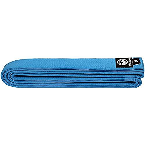 Tokaido Kata Karate Gürtel Blau Cinturón, Unisex Adulto, Azul, 315 cm