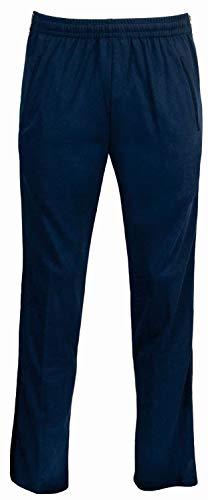 hajo Damen Jogginghose Funktions-Rehahose mit Reißverschluß am Hosenbein - Kurzgrößen, Marine, Kurzgröße: 22