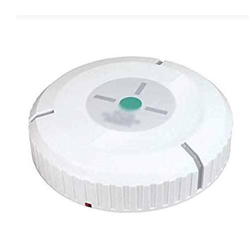 Aspiradora, Robot Aspirador Auático - Limpieza Robótica Auática del Hogar para Alfombra Limpia Piso de Madera Dura (Color: Blanco)