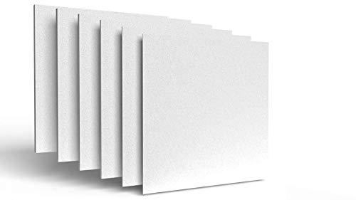 IMBALLAGGI 2000-30 Pannelli Polistirolo Isolanti - 100x100x2 cm - Ideali per Isolamento Termico Pareti, Soffitto e Controsoffitto - Densità di...